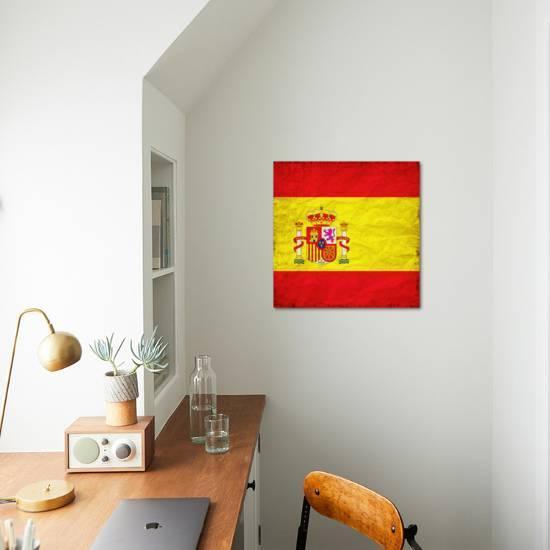 Spain Flag Art Print Wonderful Dream Art Com