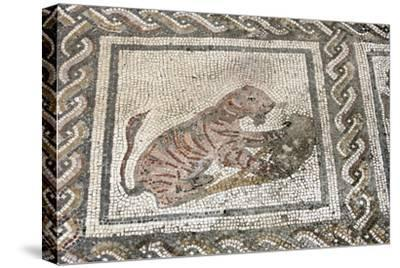 Spain. Italica. Roman City Founded C. 206 BC. House of the Planetarium. Mosaic of Bacchus and Ariad