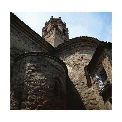 Spain. Monzon. Co-Cathedral of Our Lady of Romeral, Detail--Giclee Print
