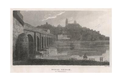 Spain, Salamanca Bridge--Giclee Print