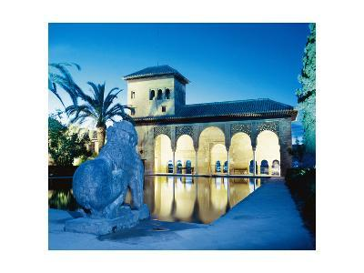 Spain, the Alhambra, Tower of the Ladies--Giclee Print