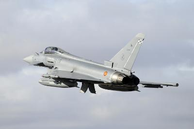 Spanish Air Force Eurofighter Ef2000 Typhoon Taking Off-Stocktrek Images-Photographic Print