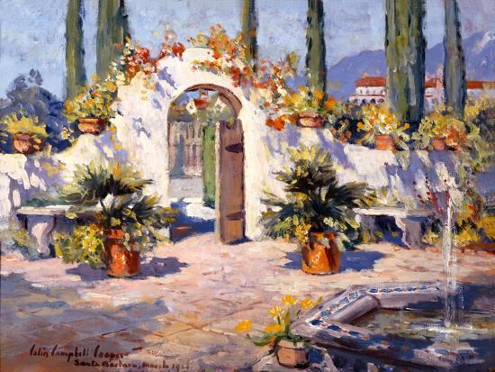 Spanish Arch-Colin Campbell-Art Print