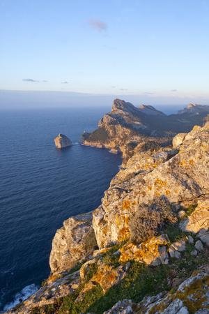 Spanish Balearic Islands, Island Majorca, Formentor, Cap De Catalunya-Chris Seba-Photographic Print