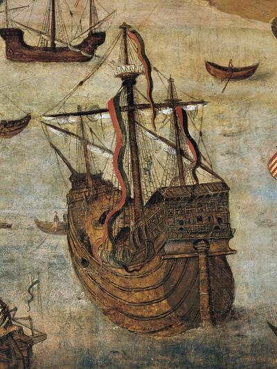 Spanish Caravel--Giclee Print