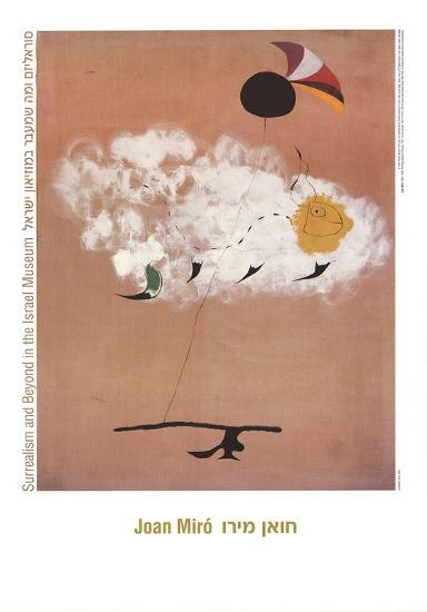 Spanish Dancer-Joan Miro-Art Print
