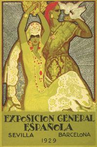 Spanish Fair Flamenco Dancer