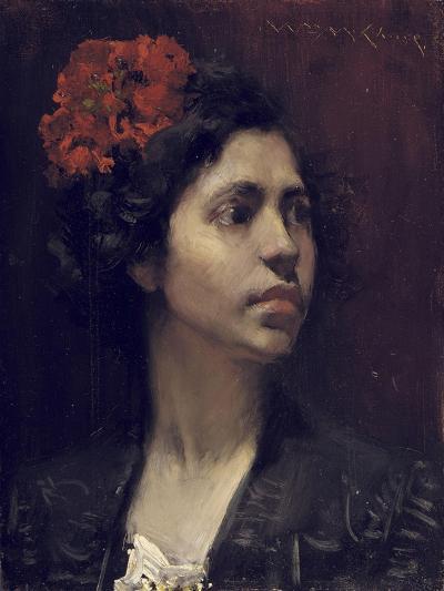 Spanish Girl-William Merritt Chase-Giclee Print