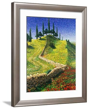 Spanish Hill Top, 1992-Trevor Neal-Framed Giclee Print