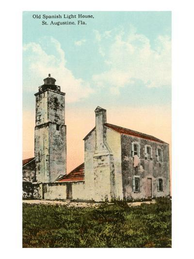 Spanish Lighthouse, St. Augustine, Florida--Art Print
