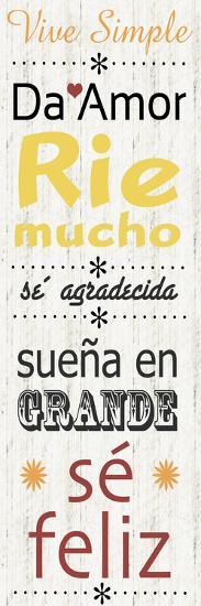 Spanish Live-Lauren Gibbons-Art Print