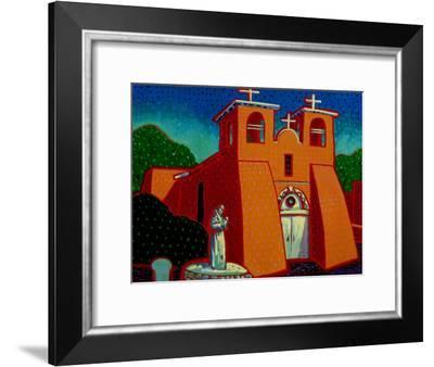 Spanish Mission-John Newcomb-Framed Giclee Print