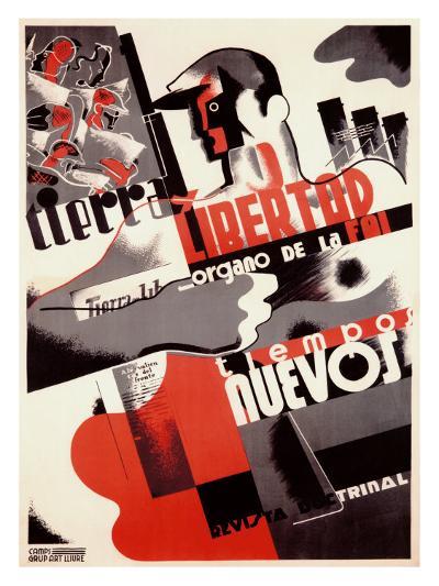 Spanish Revolution, Labor Force--Giclee Print