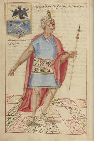 Lloque Yupanqui, 1616
