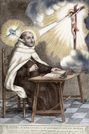 Saint John of the Cross, Spanish friar of Discalced Carmelite Order, 1701