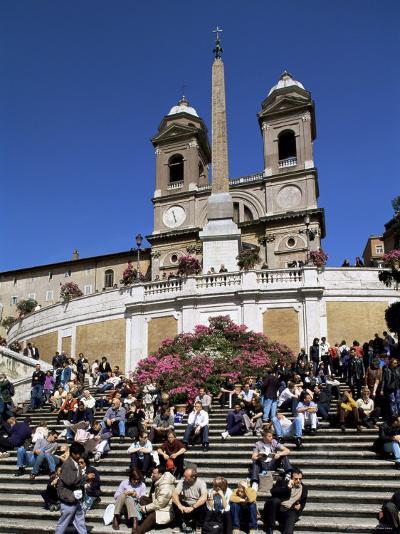 Spanish Steps, Rome, Lazio, Italy-John Miller-Photographic Print