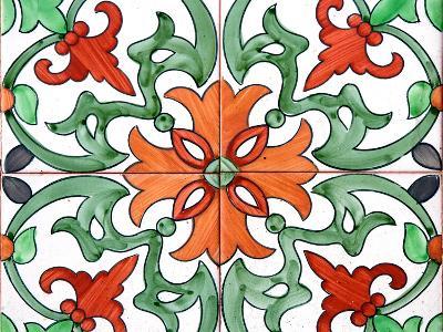Spanish Tiles I-Jairo Rodriguez-Photographic Print