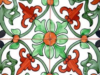 Spanish Tiles II-Jairo Rodriguez-Photographic Print