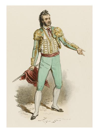 Spanish Toreador--Giclee Print