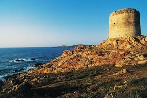 Spanish Tower, Red Island, Trinita' D'Agultu, Sardinia, Italy