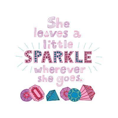 Sparkle I-Jane Smith-Art Print