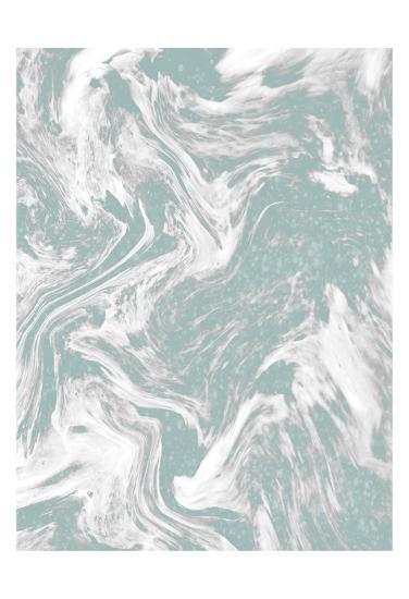 Sparkle Marble 2-Kimberly Allen-Art Print
