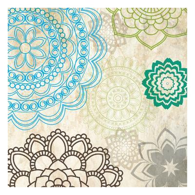 Sparklers Floral 1-Melody Hogan-Art Print