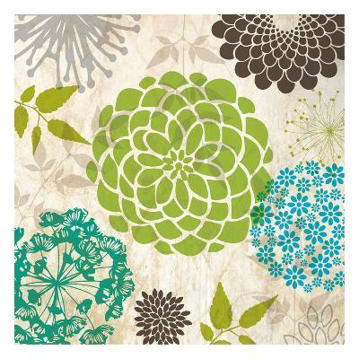 Sparklers Floral 4-Melody Hogan-Art Print