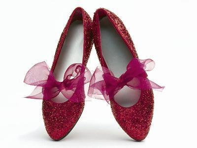 Sparkling Red Shoes-Howard Sokol-Photographic Print
