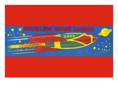 Sparkling Space Ranger--Art Print