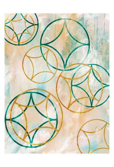 Sparkling Spheres 1-Cynthia Alvarez-Art Print