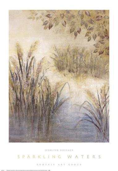 Sparkling Waters-Jennifer Hollack-Art Print