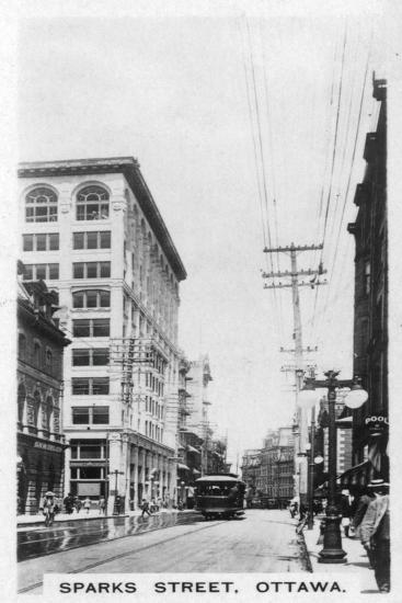 Sparks Street, Ottawa, Canada, C1920s--Giclee Print