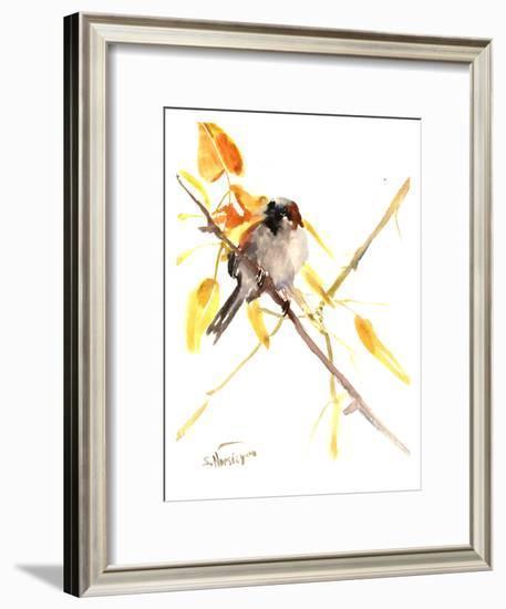 Sparrow 3-Suren Nersisyan-Framed Art Print
