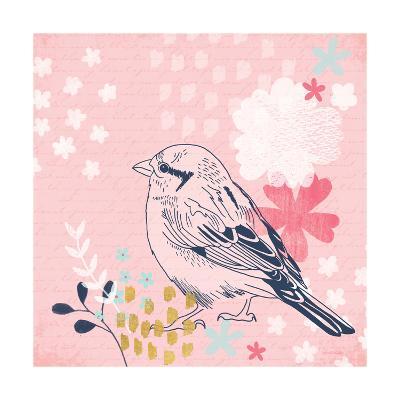 Sparrow I-Lamai McCartan-Art Print