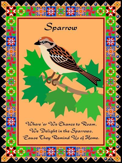Sparrow Quilt-Mark Frost-Giclee Print