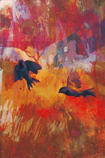 Sparrows, 2016-David McConochie-Giclee Print