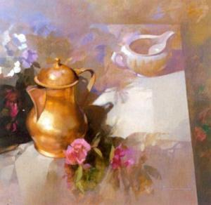 Composition with Cupper Jug by Spartaco Lombardo