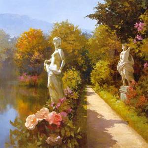 Water Garden I by Spartaco Lombardo