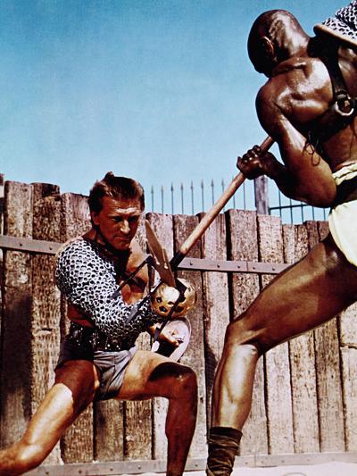 Spartacus, Kirk Douglas, Woody Strode, 1960--Photo