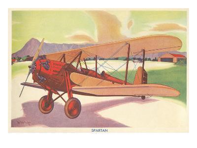 Spartan Biplane--Art Print