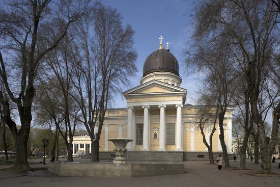 Spaso-Preobrazhensky Cathedral--Photographic Print