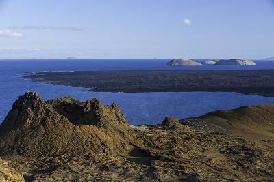 Spatter Cones and Rough Volcanic Landscape on Bartolome Island-Jad Davenport-Photographic Print