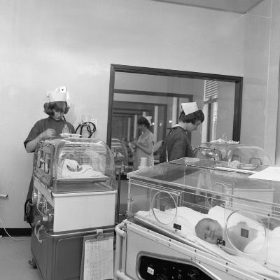 Special Care Unit for Premature Babies, Nether Edge Hospital, Sheffield, South Yorkshire, 1969-Michael Walters-Photographic Print