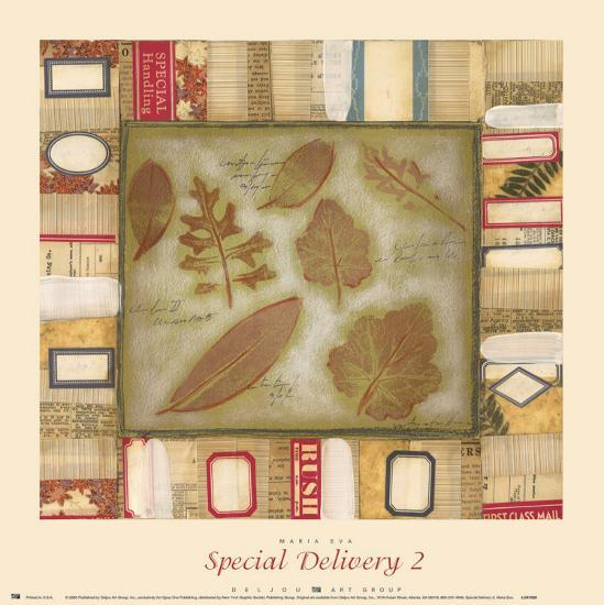 Special Delivery II-Maria Eva-Art Print