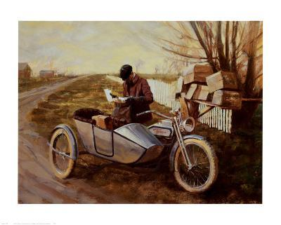 Special Delivery-David Uhl-Art Print