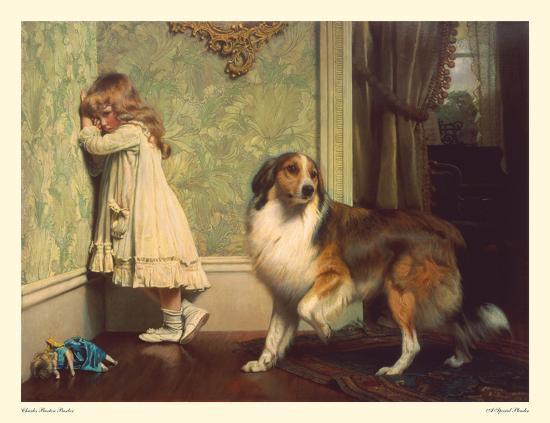 Special Pleader-Charles Burton Barber-Art Print
