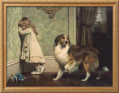 Special Pleader-Charles Burton Barber-Framed Giclee Print