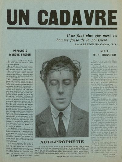 Special Print of 'Un Cadavre', 1930--Giclee Print
