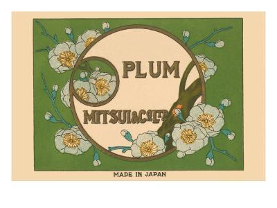 Special Selection Plum By Matsui--Art Print